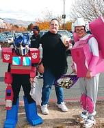 Transformers Optimus Prime and Arcee Homemade Costume