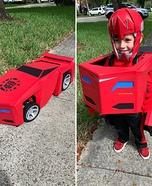 Transformers Sideswipe Costume