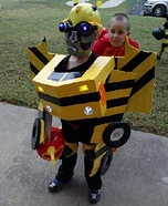 Transforming Bumblebee Homemade Costume