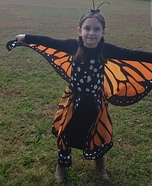 Transforming Butterfly Homemade Costume