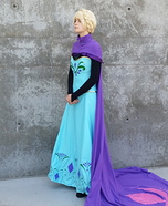 Transforming Elsa Homemade Costume