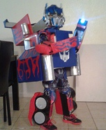 Transforming Optimus Prime Costume for Boys