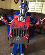 Boy's Transforming Optimus Prime Costume