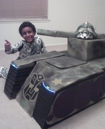 Transforming Tank Homemade Costume