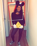 Trap Mouse Homemade Costume