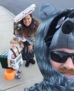 Trash Truck Family Homemade Costume