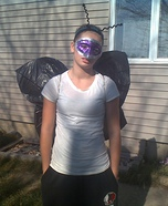 Homemade Butterfly costume