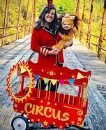 Traveling Circus Homemade Costume