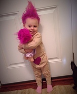 Cute baby costume ideas: Treasure Troll Baby Costume