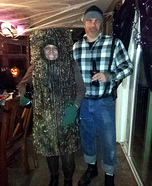 Tree and Lumberjack Couple Costume