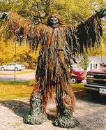 Tree Monster Homemade Costume