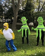 Treehouse of Horror - Kang, Kodos & Homer Homemade Costume