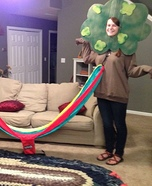 Trees and Eno Hammock Homemade Costume