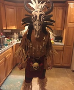 Tribal Warrior Homemade Costume