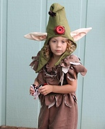 Troll Baby Brownie Homemade Costume