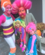 Trolls and Bergen Homemade Costume