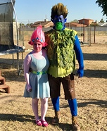 Trolls Branch & Poppy Homemade Costume