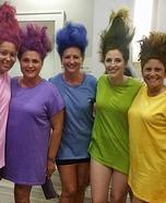 Trolls Group Homemade Costume