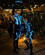 Tron Couple Homemade Costume