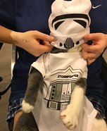 Trooper the Star Wars Storm Trooper Homemade Costume
