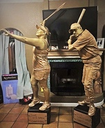 Trophy Couple Homemade Costume