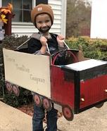 Truck or Treat Homemade Costume