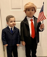 Trump & Pence Homemade Costume