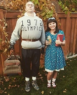 Trunchbull and Matilda Homemade Costume