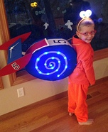 Turbo the Snail Homemade Costume