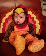 Turkey Baby Costume