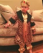 Turkish King Homemade Costume