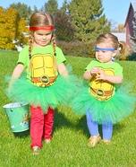 Tutu Mutant Ninja Turtle Homemade Costume