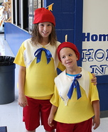 Tweedle Dee and Tweedle Dum Homemade Costume
