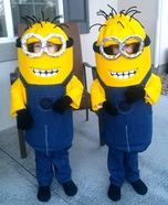 Twin Minions DIY Costumes