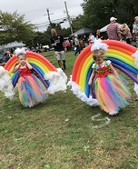 Twin Sister Rainbows Homemade Costume