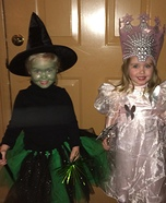 Twin Witches Homemade Costume