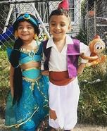 Twins Aladdin & Jasmine Costume