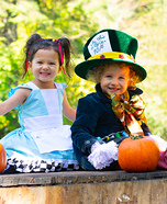 Twins of Wonderland Homemade Costume