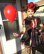 Twisted Clown Homemade Costume
