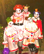 Twisty the Clown and Family Homemade Costume