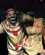 Twisty the Clown and Nurse from Silent Hill Homemade Costumes