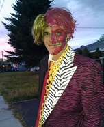 Two-Face Tommy Lee Homemade Costume
