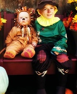 Two Boys in Oz Costume
