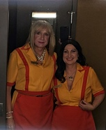 Two Broke Girls Homemade Costume
