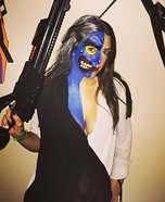 Women's Two Face Costume