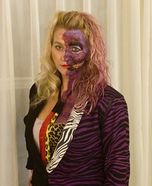 Two Face Homemade Costume