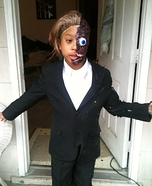 Two Face from Batman Homemade Costume
