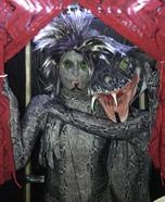 Two Headed Snake Girl Homemade Costume