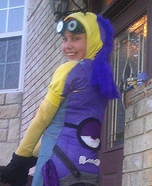 Halloween costume ideas for girls: Two Sided Minion Costume