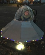 UFO for over wheelchair Homemade Costume